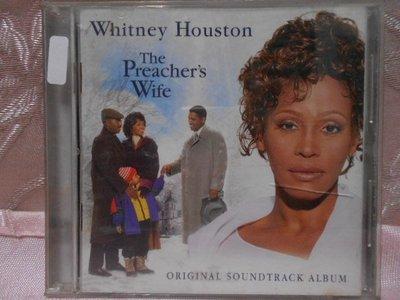 【采葳音樂網】西洋CD–WHITNEY HOUSTON〝WHITMTHE PREACHER'S WIFE〞專輯  A5