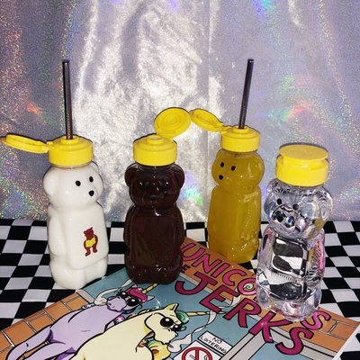 【Result】昭和懷舊透明小熊冷水瓶