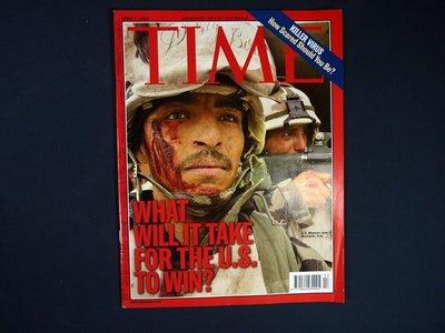 【懶得出門二手書】英文雜誌《TIME 2003.04.07》WHAT WILL IT TAKE FOR THE U.S. TO WIN?│(21F22)