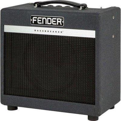 【名人樂器】 Fender BassBreaker 007 Combo 真空管 電吉他 7瓦 音箱