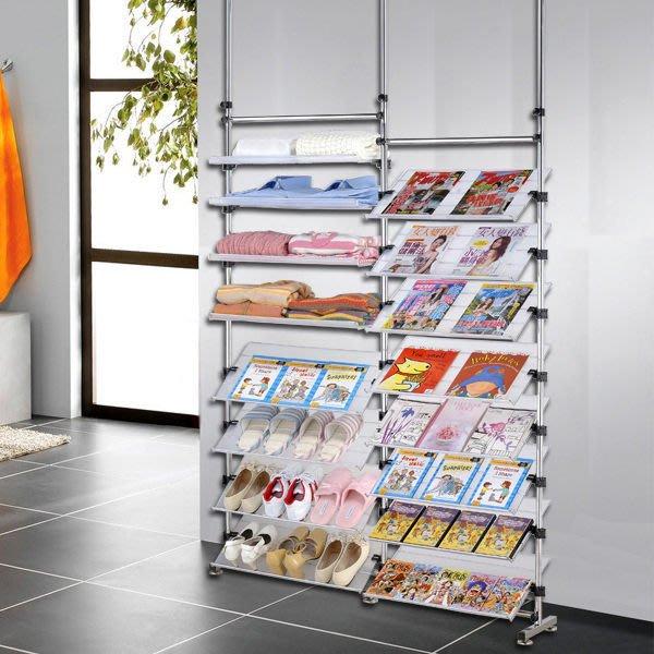 【中華批發網DIY家具】D-90-12-88型多角度旋轉式雜誌書架鞋架層架