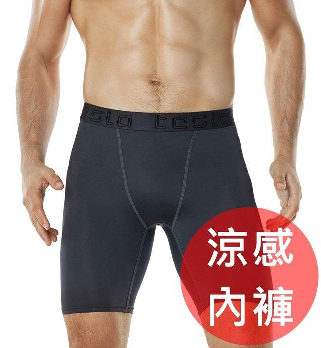 《FOS》日本 TESLA 涼感 排汗 四角褲 (2入組) 速乾 緊身褲 防曬 夏天 運動 健身 慢跑 團購 熱銷 新款