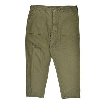 1970s US ARMY Trousers UTILTY BAKER Pants 美軍 公發 大尺碼 油印 貝克 軍褲