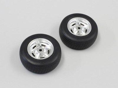 創億RC KYOSHO FAT401 Tire & Wheel(Rostyle Wheel/Pre-glued/2pc