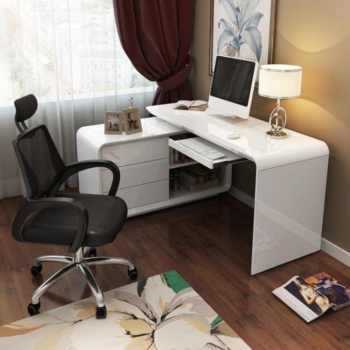 電腦書桌家用臺式旋轉書小桌子現代簡約臥室時尚轉角書ged5-3