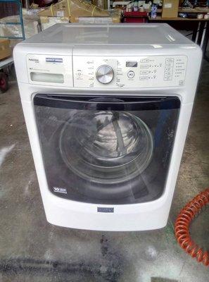 國際二手貨中心---MAYTAG美泰克-- 滾筒式洗衣機  MHW4300DW