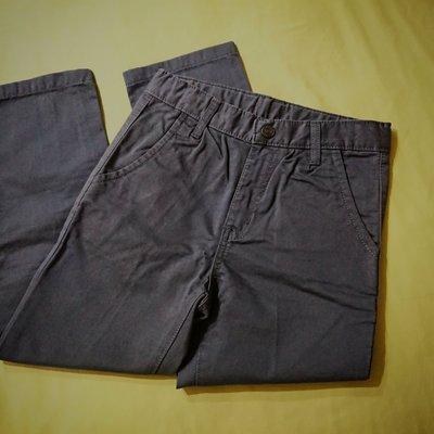hitch-hiker ITALY男童純棉休閒直筒長褲-鐵灰色(廣告品以二手價出清)