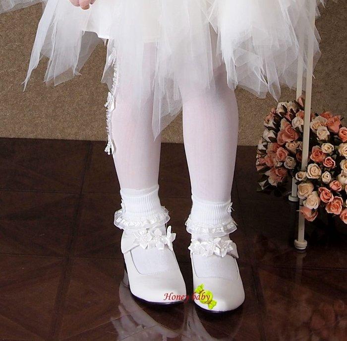 Honey baby~((蕾絲襪)) 全新優質. 16~19cm 20-22cm專搭配禮服