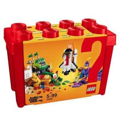 2018款 LEGO 10405 樂高積木玩具 經典創意小顆粒積木桶 火星任務