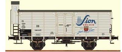 傑仲 博蘭 BRAWA 車廂 Boxcar G 10 immersion of the DB era 49039 HO