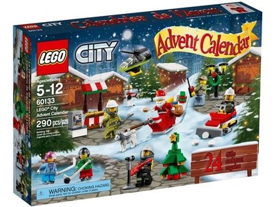 全新現貨 60133 LEGO City Advent Calendar 2016, City