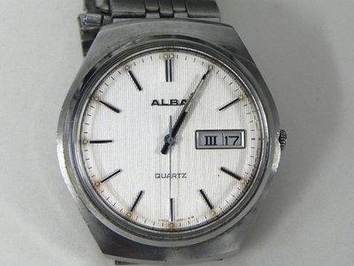 石英錶 [ALBA-101029]  ALBA 雅柏 時尚錶 石英錶 中性錶 - 鏡面全新 高雄市