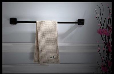 黑色 不鏽鋼 毛巾架 30公分 40公分 50公分 60公分 70公分 80公分 90公分 100公分 單桿 方正 四方