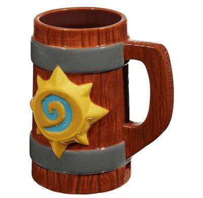 【丹】暴雪商城_Hearthstone 20oz. Tavern Mug 爐石戰記 馬克杯 啤酒杯
