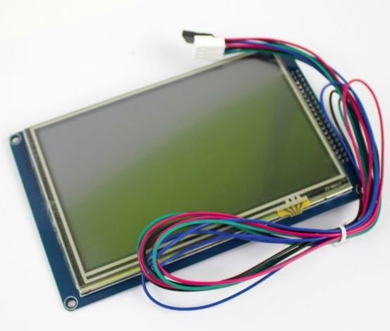 Duet PanelDue 7吋顯示器含線材