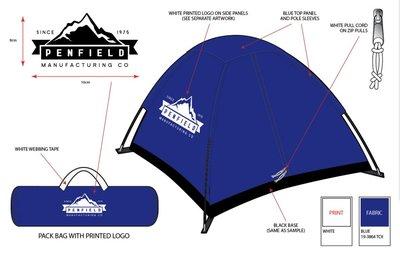露營小帳篷Penfield Camping Tent Outdoor Tents 露營帳篷野餐情侶款家庭款
