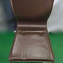 【宏品二手家具館】中古家具 家電 F30802*咖啡色皮餐椅 洽談椅 書桌椅 二手餐桌 營業器材 沙發組 出清特賣