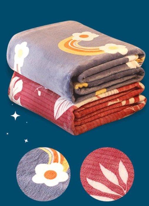 BELLE VIE 保暖 法蘭絨毯 150x210cm 2入組