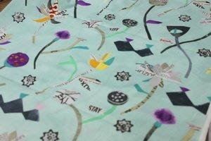 豬豬日本拼布@WINDHAM FABRICS設計款G系列@棉布材質