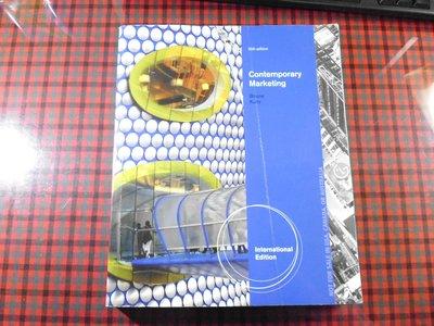 《Contemporary Marketing  2012 第 16e》|9781285092591|有筆記 封面有摺痕