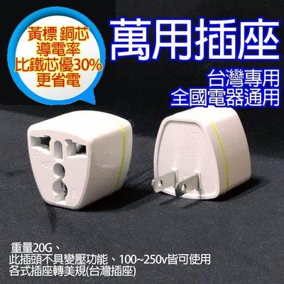 【柑仔舖】純銅芯省電插座 旅行通用插座...