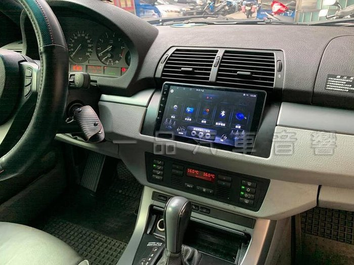 一品. BMW X5 E53 專用9吋安卓主機.8核心 正版導航.藍芽.網路電視.Google