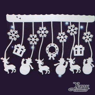 X射線【X285028】雪花.雪人.房...