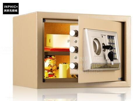 INPHIC-保險櫃家用迷你 智慧保險箱家用小型入牆保管箱_S01900C