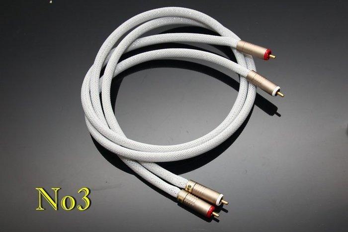 [山姆音響]入門版 -- No3 美國GeneralCable 40KV  ,手作CD聲頻前級專用類比訊號線/1米2