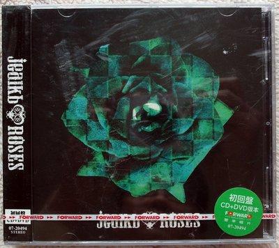 ◎2007全新初回限定版CD+DVD未拆!日本視覺系團體-jealkb-首張專輯-ROSES-黑色沙漠.戀傷.樂觀者-等