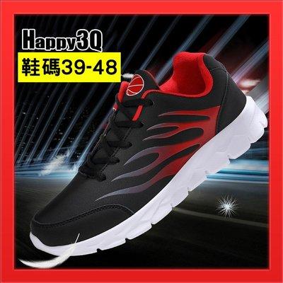 US11大尺碼運動鞋休閒鞋慢跑鞋US12男鞋個性跑步鞋-紅/灰39-48【AAA5071】