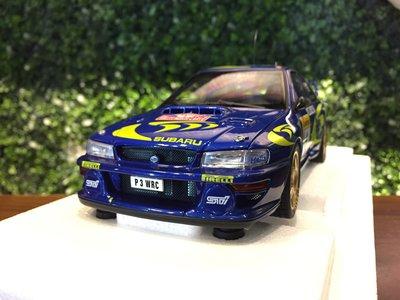 1/18 AUTOart Subaru Impreza WRC 1997 #4 Monte Carlo【MGM】