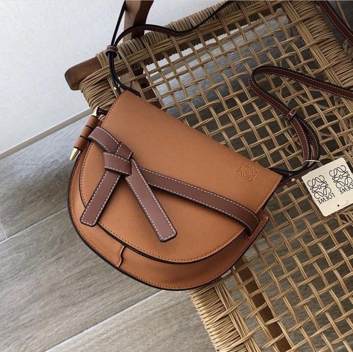 Loewe GATE Bag 小型 Gate 手提肩背包 焦糖