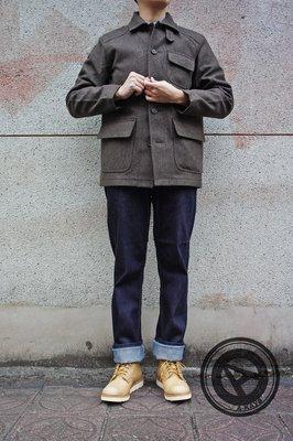 【促銷商品】ADIDAS BLUE M CONDUCTOR 原色去漿 直筒牛仔褲 深藍 【O55760】