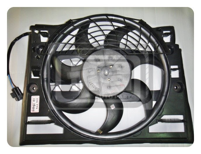 【TE汽配通】寶馬 BMW E46 98年 冷氣風扇 冷扇總成 6缸款 含晶體電阻 BOSCH 台製外銷件