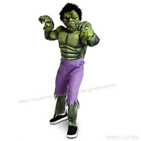 妍媽咪兒童禮服出租~迪士尼肌肉綠巨人浩克造型服Halloween 復仇者聯盟~萬聖節遊行