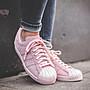 【路克球鞋小天地】愛迪達 ADIDAS Superstar 80s 經典豪華版 金屬貝殼 女神鞋 粉色 銀色