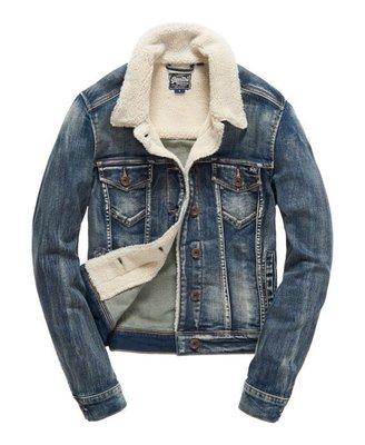 SUPERDRY  極度乾燥 牛仔 外套 夾克  S號 類 Kiito、小闆娘、Apt.3R