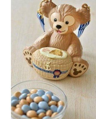 東京家族 出清 日本東京迪士尼樂園帶回 全新達菲熊糖果盒 吊飾 可當存錢筒