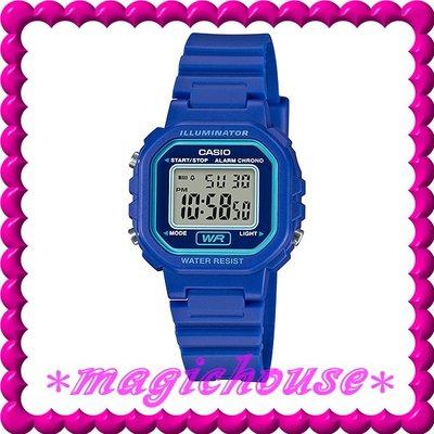 *夢幻精品屋*CASIO原廠公司貨~10年電池 兒童,學生防水復古電子錶 CASIO-LA-20WH-2A
