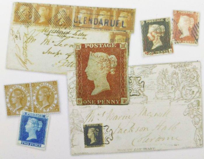 10月特價!! 大英帝國 1841年 Queen Victoria - 維多利亞女王  - 紅便士 GB Stamp