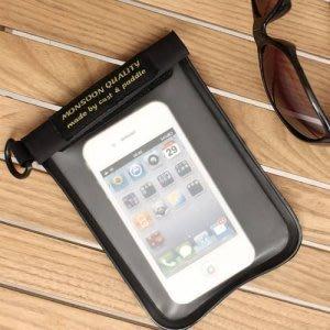 日本Stream Trail 多功能收納袋手機等小物收納袋可放iPhone喔!Nude Case Mobile