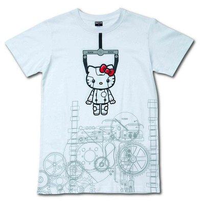 Robot kitty誕生版T-shirt