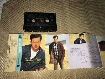 【李歐的音樂】飛碟唱片1990年代 TOMMY PAGE A Friend To Rely On 錄音帶 卡帶 下標即賣