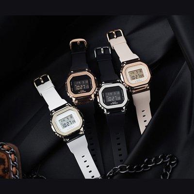 Louis手錶代購現貨卡西歐手錶G-SHOCK GM-S5600PG-1/G-7/4/5600B-1/3電子運動男腕錶