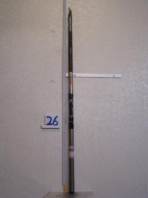 采潔 日本二手外匯釣 NFT大磯 2-630磯釣竿 前打竿 筏竿21尺中古二手 SHIMANO DAIWA R26