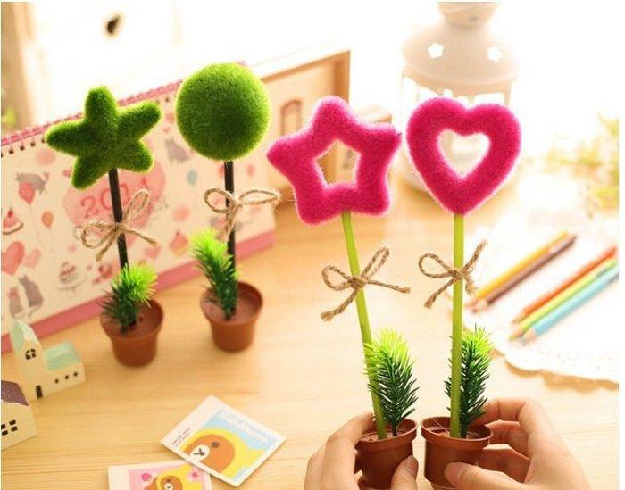兒童節 造型盆栽筆 原子筆 * 韓國 ZAKKA 造型筆 圓珠筆 辦公室 學生文具 禮品 贈品 宣傳 活動