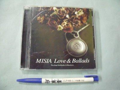【姜軍府影音館】《MISIA Love & Ballads CD》2002年 BMG 合輯 日語 日文歌曲 音樂
