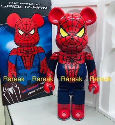 Medicom Bearbrick 2012 Marvel The Amazing Spiderman 1000% 蜘蛛俠 Be@rbrick