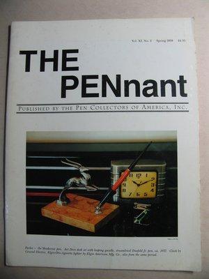 The PENnant 美國鋼筆收藏家協會會刊 共7本